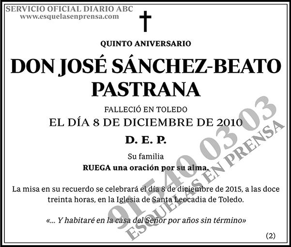 José Sánchez-Beato Pastrana